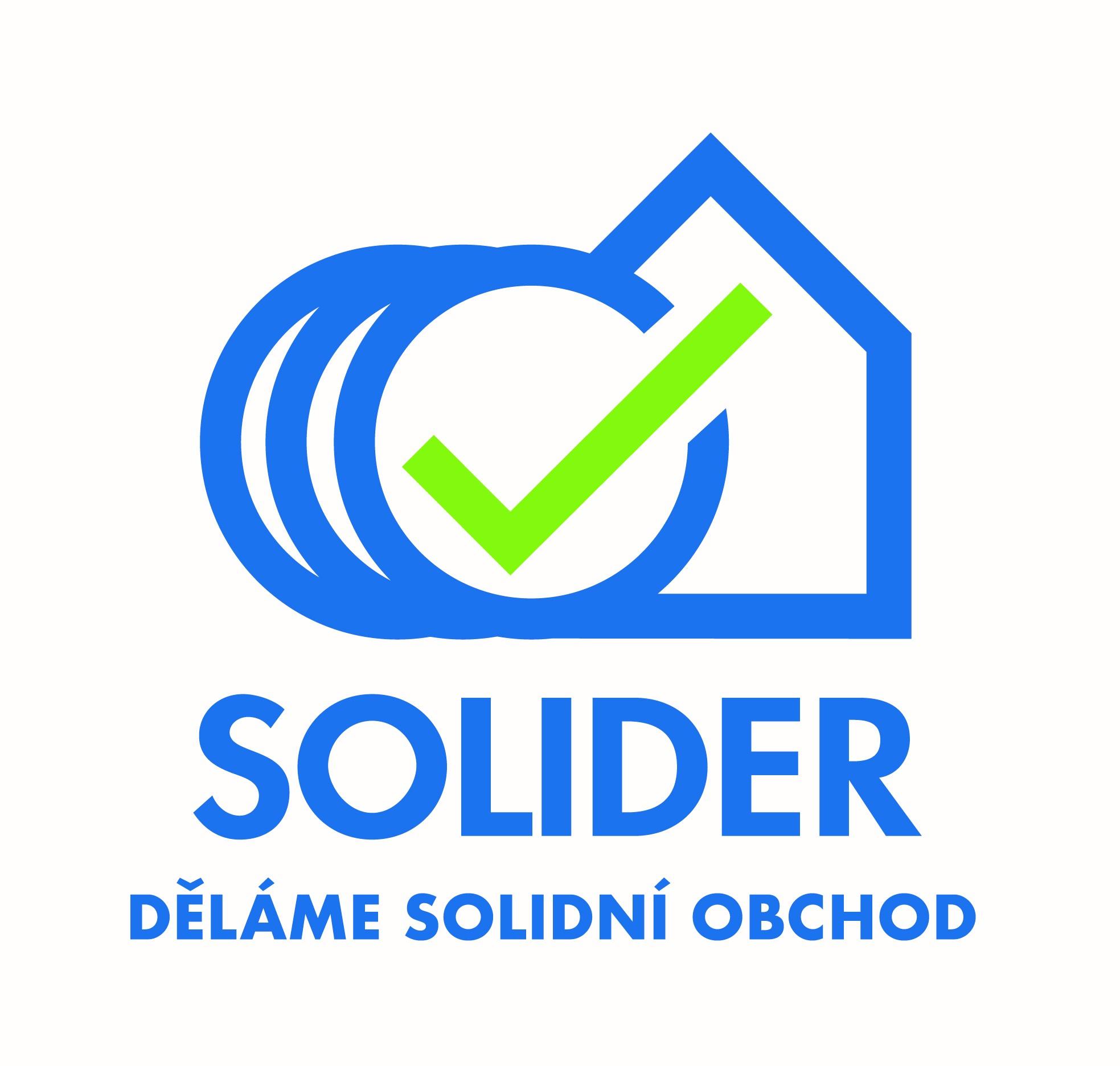 Logo společnosti Solider, nabízející služby rychlého výkupu nemovitostí